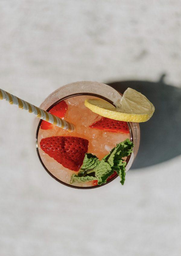 Spiked Strawberry Lemonade