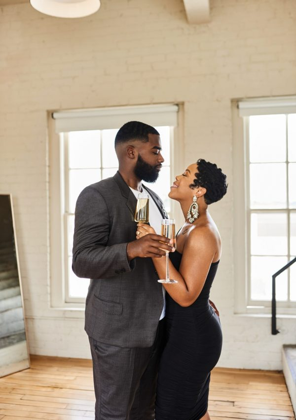 Black Love, Sneakers & Luxury: Our Engagement Photoshoot